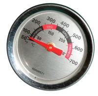 """3/16"""" Round Heat Indicator Tempurature Gauge"""