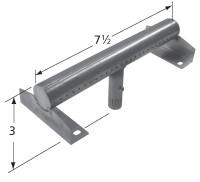 "7-1/2"" T-shaped Stainless Steel Burner 19541"