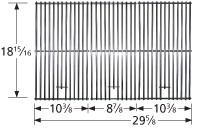 """18-13/16"""" X 29-5/8"""" Stainless Steel Clad Wire Cooking Grid"""