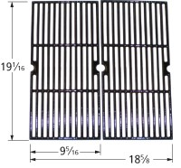 "19-1/16"" X 18-5/8"" Porcelain Coated Cast Iron Cooking Grid  61752"