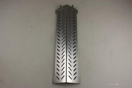 16-7/8 x 5 -1/16 Por Steel Heat Plate 80009691