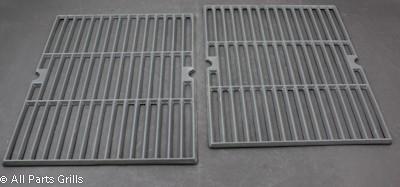"16-7/8"" x 12-3/8"" Porcelain Coated Cast Iron Cook Grid (2pc)"