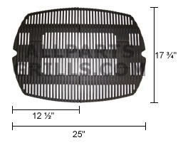 """17-3/4 x 25"""" Weber cooking grids for Q300 & Q320"""