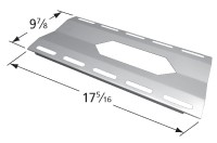 """17-5/16"""" x 9-7/8"""" Stainless Steel Heat Plate"""