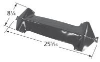 """25-5/16"""" x 8-1/4"""" Porcelain Steel Heat Plate"""