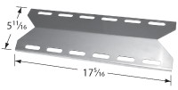 "17-5/16"" x 5-11/16"" Stainless Steel Heat Plate"