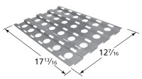 """17-13/16 x 12-7/16"""" Stainless Steel Heat Plate"""