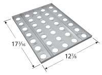"""17-3/16"""" X 12-7/8"""" Stainless Steel Heat Plate"""