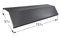 """15-3/16"""" x 5-7/16"""" Stainless Steel Heat Plate"""