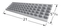"21"" x 5-15/16"" Viking Stainless Steel Heat Plate"