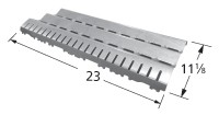 """11-1/8"""" x 23"""" Stainless Steel Heat Plate"""