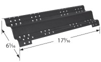 17-9/16 X 6-5/16 porcelain steel heat plate
