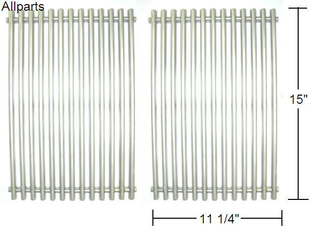 """15 x 22-1/2"""" Stainless Steel Cooking Grid Set"""