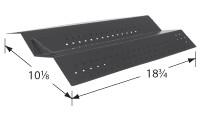 18-3/4 X 10-1/8  porcelain steel heat plate
