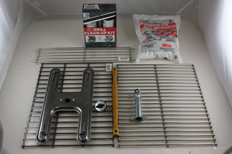 Charmglow Rebuild kit no valve-regulator SS Grids