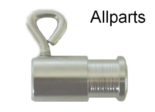 Jumbo Plated Bushing for Rotisserie Spit Rods