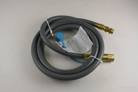 "3/8"" 12ft Natural Gas Quick Disconnect Kit"