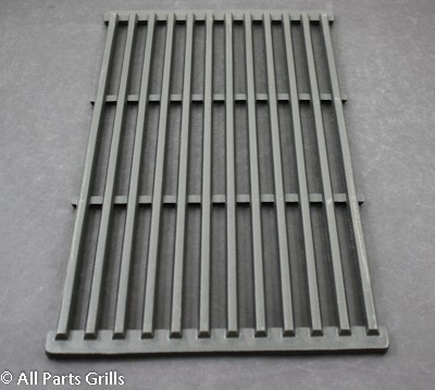 "19-1/4"" X 10-3/8"" Matte Finish Cast Iron Cooking Grid"