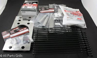 "21-3/4"" X 10-3/4"" Stainless Steel ""H"" Style Burner Kit"