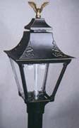 Black Cast Alum. Lamp (GG2A)-Order Post Seperately