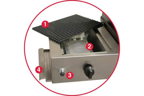 PFMGSEAR Phoenix Stainless Steel Infrared Sear Zone Natural Gas