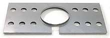"16-3/4"" x 8"" Stainless Steel Radiation Shield"