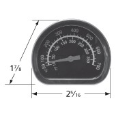 "2-5/16"" x 1-7/8"" Heat Indicator 00475"
