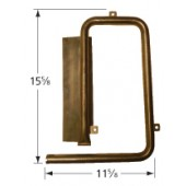 "15-5/8"" X 11-5/8"" Stainless Steel Pipe Burner 16291"