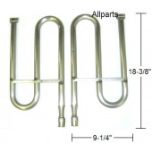 "Stainless Steel Right  & Left ""S"" Burner Set"