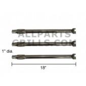 """18"""" X 1"""" Stainless Steel Tube Burner (3 pc)"""