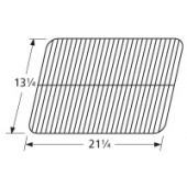 "13-1/4"" X 21-1/4"" Porcelain Steel Cook Grid"