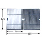 "17-1/4"" X 26-3/4"" Matte Cast Iron Cooking Grid"