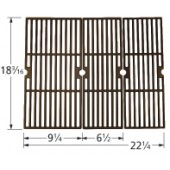 "18-3/16"" X 22-1/4"" Porcelain Coated Cast Iron Grid Set 60063"