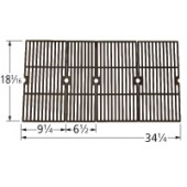 "18-3/16"" X 34-1/4"" Porcelain Coated Cast Iron Grid Set 60064"