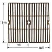 "18-3/16"" X 22-1/4"" Porcelain Coated Cast Iron Grid Set 60162"
