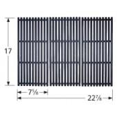 "17"" X 22-7/8"" 3-pc Porcelain Coated Cast Iron Cooking Grid Set 61143"