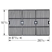 "16-15/16"" X 26-7/16"" Porcelain Coated Cast Iron Cooking Grid Set"