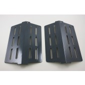 "Heat Deflector Plates (2) Black 13-1/4""X8-3/4"" ea."