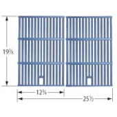 "19-3/8"" X 25-1/2"" Matte Cast Iron Cooking Grid"