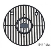 "19-3/4"" Diameter Porcelain Coated Cast Iron Cooking Grid with Insert"