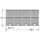 "16-13/16"" X 34-1/2"" Porcelain Coated Cast Iron Cooking Grid"