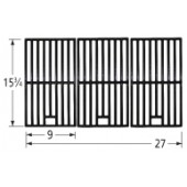 "15-3/4"" X 27"" Porcelain Coated Cast Iron Cooking Grid"