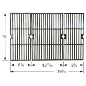 19-1/8 X 29-9/16 porcelanized 3 pc cooking grid