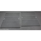 "16-7/8"" x 12-3/8"" Porcelain Coated Cast Iron Cook Grid (2pc)"