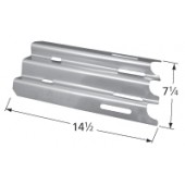 "14-1/2"" X 7-1/4"" Stainless Steel Heat Plate"