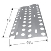 "19"" x  9-9/16"" DCS Stainless Steel Heat Plate"