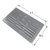 "17"" X 9-3/4"" Rolled Steel Heat Plate"