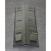 "16"" X 5-13/16"" Porcelain Coated Steel Heat Plate"