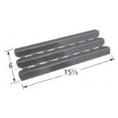 "15-7/8"" x 6"" Broil-Mate Porcelain Steel Heat Plate"