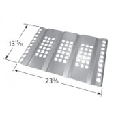 "13-15/16"" x 23-3/8"" Stainless Steel Heat Plate"